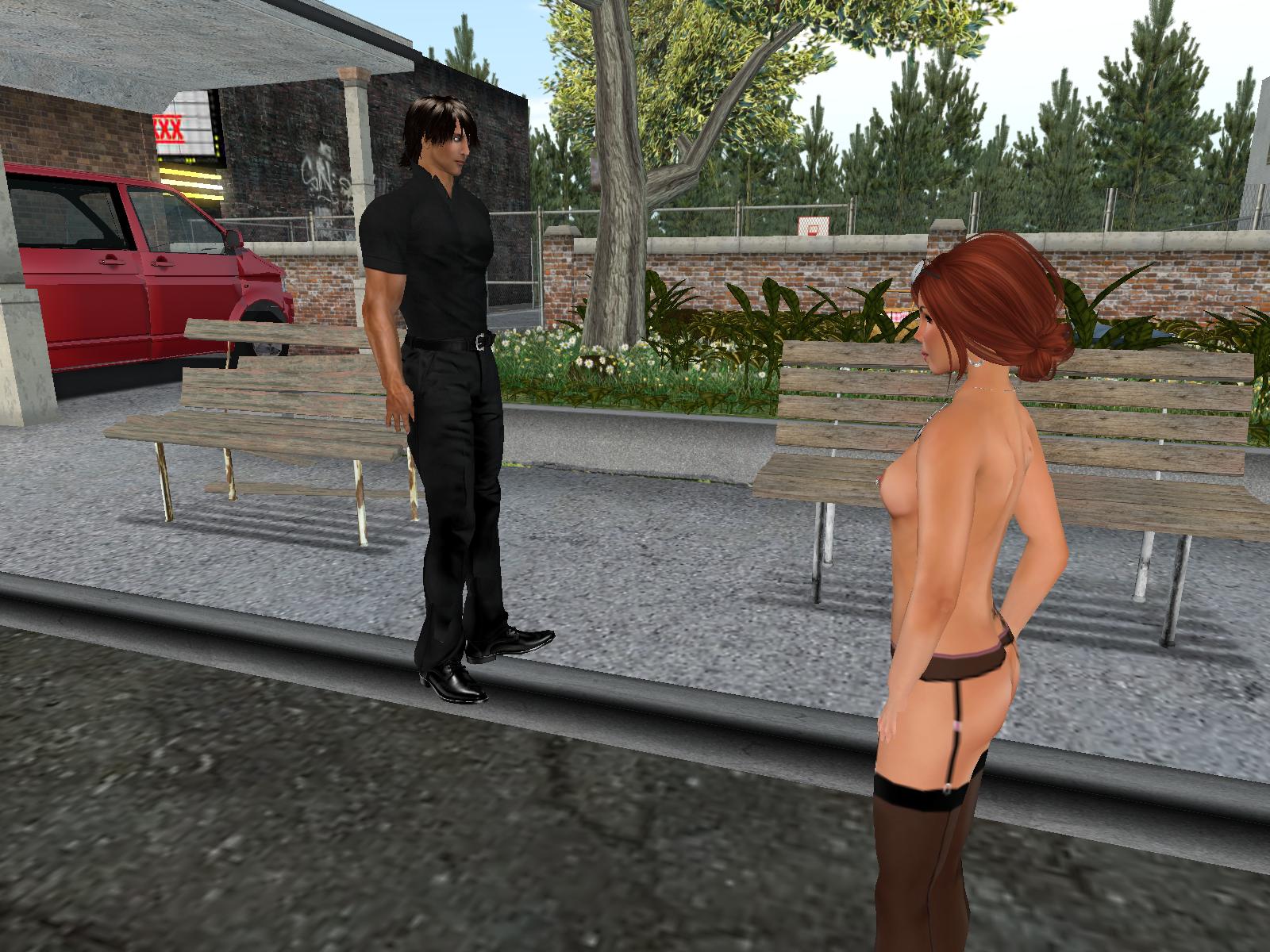 Nude In Public Dares 21